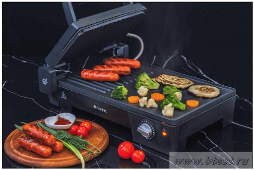 Griglia e bistecchiera elettrica Ariete