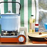 Mobile per cucina da campeggio